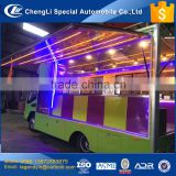 CLW LHD RHD Euro I II III IV standard 2017 NEW fashion attractive mobile food truck with very nice designs lights for sale