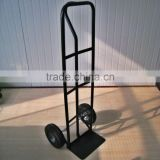 powder coating treated cargo carrier steel hand trolley for factory export