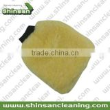 Special Wool car wash mitt terry cloth wash mitt/Microfiber Car Cleaning Glove/wool sheepskin car wash mitt