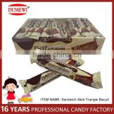 Chocolate Sandwich Triangle Stick Biscuit
