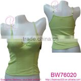 Wholesale ladies summer short camisoles tops underwear