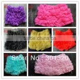 free shipping baby girls shorts bloomers chiffon skirt dress ruffle shorts petti chiffon shorts