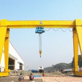 Single Girder Gantry Crane 5 ton ,Electric hoist by steel wire rope