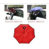 New custom branded windproof Kazbrella umbrella upside down umbrella inverted umbrella from guangzhou factory in guangdong China