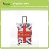 Promotion 100% Customized Cheap Fabric Spandex Stretch Suitcase Protective Luggage Cover