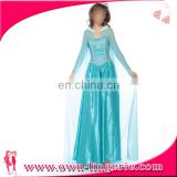 Elsa High Quality Young Girls Dress Halloween Party Christmas Dresses for Chinese clothing