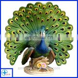 china customized high quality peacock figure statue