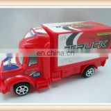plastic Friction container truck toy