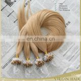 6A+ grade new style most popuar high quality factory price micro loop ring hair extension virgin hair human hair