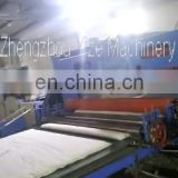 Automatic Bedding and Covering Non-collodion quilt production line cross lapper quilting machine line