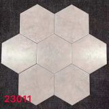 Slip Resistant Ivory 200x230mm Hexagon Tiles Kitchen
