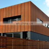 ASTM A588/A242 CORTEN steel sheet for exterior wall cladding