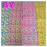 Made in Weifang Custom Digital printing different printed fabric small floral design for polyester printed fabri