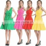 Bestdress cheap pin up newest in stock plus size dres Vintage Polka Dot Retro Swing 50s 60s rockabilly dress boutique