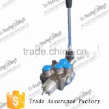 ZDa-L15 series 60l/min,hydraulic manual control valve for motorcycle lift table,manufacturer in china