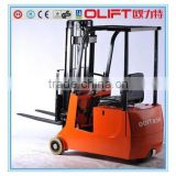 3-ponit Battery forklift 1.5 ton DC electric forklift Truck                                                                         Quality Choice
