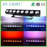 Stage professional light 8 eyes 8x30W RGB 3in1 COB LED dot matrix light wash blinder light