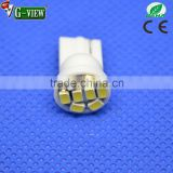 Good reputation best selling auto led light for car or motor, T10 flashing bulb 8SMD 1206 12V led tail light bar
