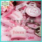 2014 cute metal keyring baby shower favors