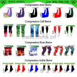 Compression sleeves--Compression arm/calf/knee/ankle sleeve for cycling,basketball,football any sports--Anti-UV,Moisture wicking