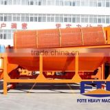 Large capacity mobile Trommel / Rotary drum screen/trommel screen for Gold,sand washing plant