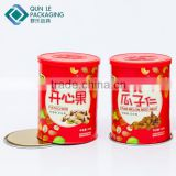 Snack Use Air Proof empty cans for food packaging Aluminum foil liner Food container