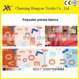 Designs for printing polyester fabric from china manufacturer for Morocco bedding sets markets