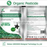Biopesticide compound with bacillus thuringensis organic farm pest killing