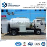DongFeng 5 CBM mini lpg tank trucks with refilling system,lpg transportation truck for sale                                                                                                         Supplier's Choice