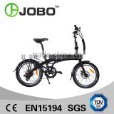 JOBO 20'' Folding Electric Bike Hidden Battery Electric Cruiser Bicycle