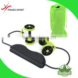 Dual Stability Ab Wheel with Knee Mat