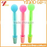 Wholesale Promotional Silicone Cactus Ball Pen With Pot, Advertising Ball Pen