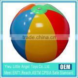 2015 coloful rainbow inflatable promotional ball
