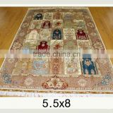 wholesale mosque carpet handmade persian silk rug persian handmade silk carpets for home hotel villa