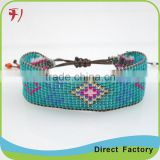 hot jewelry woven cheap bell bracelet for sale