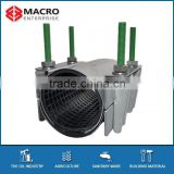 Pipe Leakage Repair Clamp for PVC, HDPE, PP and Steel Pipes