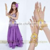 belly dance purple bracelet,belly dance accessories,belly dancing hand chain,gold bracelet,gold hand chain
