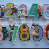 Handcraft cake decorative Number Candle