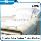 Disposable Medical Paper Bed Sheets for hospital salon,paper and PE film laminated examination Couch Cover Paper