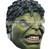 cartoon Hulk cosplay latex creepy mask Halloween full head mask Costume Prop Accessories