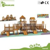 New design children outdoor wooden playground                                                                         Quality Choice