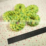 Pet supplies wholesale dogs chew toy Cotton rope chew toy Pet cotton rope double knot weaving training