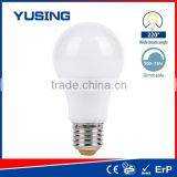 China Alibaba 800lm Dimmable A60 Plastic Bulb Cover For LED Light                                                                         Quality Choice                                                     Most Popular