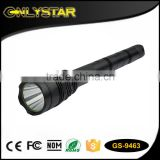 Onlystar GS-9463 aluminum 800lm 3*18650 long distance powerful flashlight xml-t6 mr light led torch