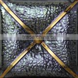 mosaic tile 20*20cm fish scale mosaic tile ceramic wall tile black white color tv background wall design