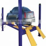 Top Quality Portable Hydraulic 4 Post/Column Car Lift /Hoist Washing and Repairing Equipment