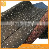 various dots of epdm recycled sbr rubber flooring in roll