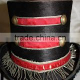 Steampunk Victorian Circus Antique Ring Master Top Hat