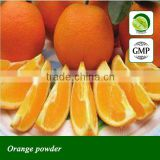 GMP factory supply freeze dried Orange powder
