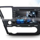 Touch screen car dvd player for honda civic 2014 /2015 with CE/ROHS
